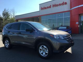 Used 2014 Honda CR-V CR-V LX for sale in Courtenay, BC