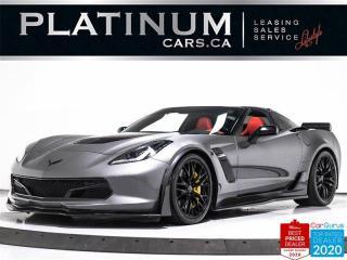 Used 2016 Chevrolet Corvette Z06 650HP, 3LZ, Z07 PKG, CERAMIC, HUD, NAV, CAM for sale in Toronto, ON