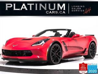 Used 2019 Chevrolet Corvette Grand Sport, CONVERTIBLE, 3LT, 460HP, AUTO, NAV for sale in Toronto, ON