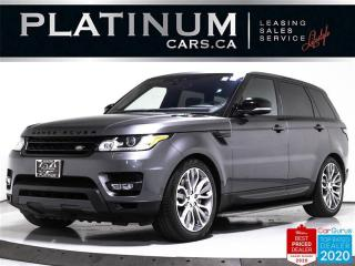 Used 2017 Land Rover Range Rover Sport SUPERCHARGED DYNAMIC, 510HP, V8, NAV, MERIDIAN, for sale in Toronto, ON