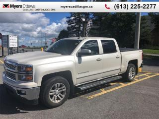 Used 2015 Chevrolet Silverado 1500 LT  LT, CREW, 5.3 V8, BUCKET SEATS, NAV, LOADED for sale in Ottawa, ON