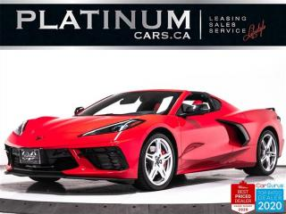 Used 2020 Chevrolet Corvette Stingray, Z51, 2LT, NEW CAR, GT2 BUCKET, FRONT LIF for sale in Toronto, ON