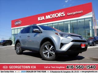 Used 2018 Toyota RAV4 LE | BU CAM | B/TOOTH | HTD SEATS| 49K KMS| ALLOYS for sale in Georgetown, ON