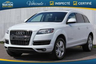 Used 2014 Audi Q7 Quattro TDI  7 PASS. GPS TOIT PANO. for sale in Ste-Rose, QC
