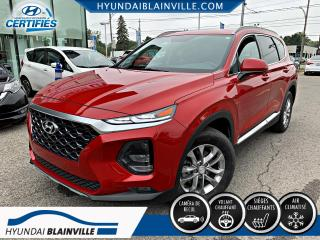 Used 2020 Hyundai Santa Fe ESSENTIAL, DÉMAR DISTANCE, CAM RECUL, AP for sale in Blainville, QC
