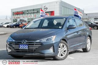 Used 2020 Hyundai Elantra Preferred Alloys | Heated Seats and Wheel for sale in St. Catharines, ON
