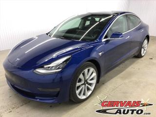 Used 2020 Tesla Model 3 Long Range AWD GPS Cuir Toit Pano Mags 19 Pouces for sale in Trois-Rivières, QC