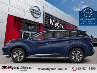New 2020 Nissan Murano SV  - Sunroof -  Heated Seats - $262 B/W for sale in Orleans, ON