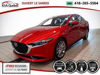 Used 2019 Mazda MAZDA3 GT* GPS* TOIT* SIEGES CHAUFFANTS* CUIR* for sale in Québec, QC