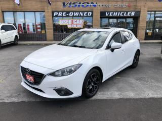 Used 2015 Mazda MAZDA3 4dr HB Sport Man GS-NAVI-BACK UP CAMERA for sale in North York, ON