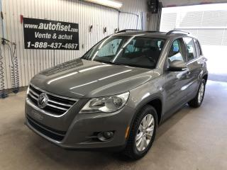 Used 2010 Volkswagen Tiguan 4dr Auto Comfortline 4Motion  $58./sem+taxes for sale in St-Raymond, QC