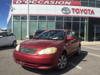 Used 2003 Toyota Corolla AIR/VITRES/CRUISE for sale in St-Eustache, QC