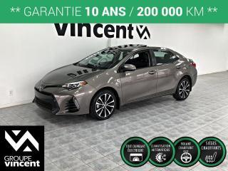 Used 2017 Toyota Corolla SE ** GARANTIE 10 ANS ** Une familiale qui ne sacrifie pas le plaisir se conduire! for sale in Shawinigan, QC