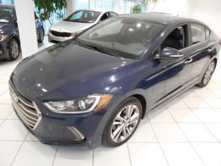 Used 2017 Hyundai Elantra Limited ** GPS,TOIT,CUIR,UN PROPRIO.** for sale in Montréal, QC