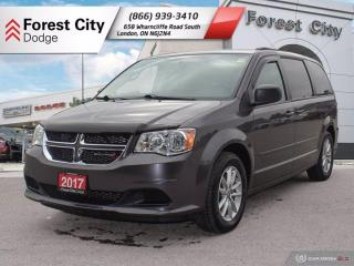 Used 2017 Dodge Grand Caravan SXT PLUS   STOW-N-GO   DVD   BLUETOOTH for sale in London, ON