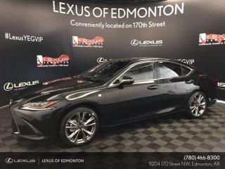 New 2020 Lexus ES 350 F Sport Series 2 for sale in Edmonton, AB