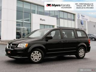 Used 2017 Dodge Grand Caravan CANADA VALUE PACKAGE for sale in Kanata, ON