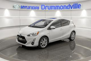Used 2016 Toyota Prius c TECHNOLOGY + GARANTIE + NAVI + TOIT + CU for sale in Drummondville, QC