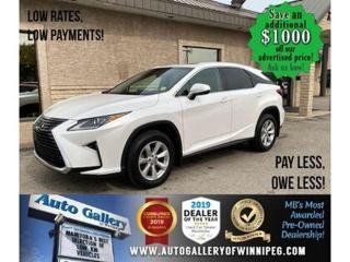 Used 2016 Lexus RX 350 RX-350* Awd/B.cam/Roof for sale in Winnipeg, MB