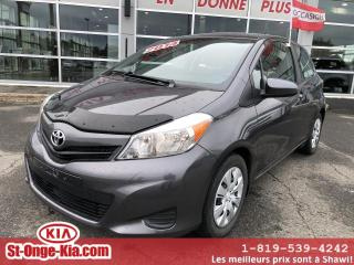 Used 2014 Toyota Yaris Hayon 3 portes, boîte automatique, CE for sale in Shawinigan, QC