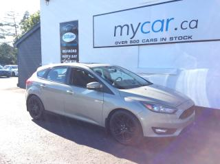 Used 2015 Ford Focus NAV, BLACK ALLOYS,, HEATED SEATS, BACKUP CAM!! for sale in Richmond, ON