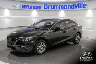 Used 2016 Mazda MAZDA3 GS + GARANTIE + CAMERA + A/C + MAGS + CR for sale in Drummondville, QC