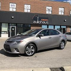 Used 2015 Toyota Corolla LEATHER/SUNROOF/NAVIGATION/LOADED for sale in Concord, ON