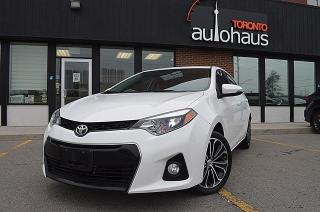 Used 2016 Toyota Corolla Sport/HID Lights/Sunroof/Rear Cam/Loaded for sale in Concord, ON