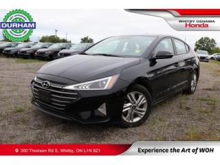 Used 2020 Hyundai Elantra Preferred w-Sun & Safety Package IVT for sale in Whitby, ON