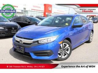 Used 2017 Honda Civic LX for sale in Whitby, ON