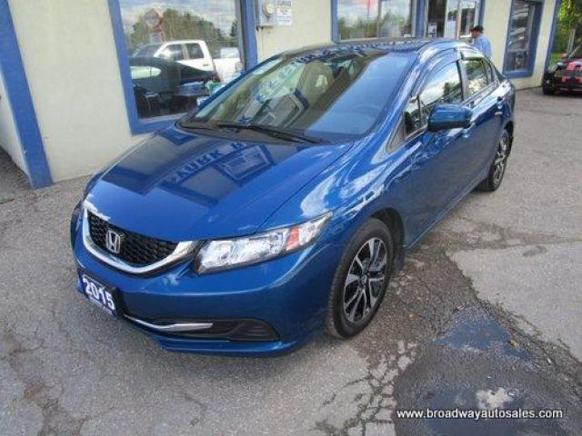 2015 Honda Civic 5-SPEED MANUAL LX MODEL 5 PASSENGER 1.8L - SOHC.. HEATED SEATS.. POWER SUNROOF.. BACK-UP CAMERA.. BLUETOOTH SYSTEM.. KEYLESS ENTRY & START..