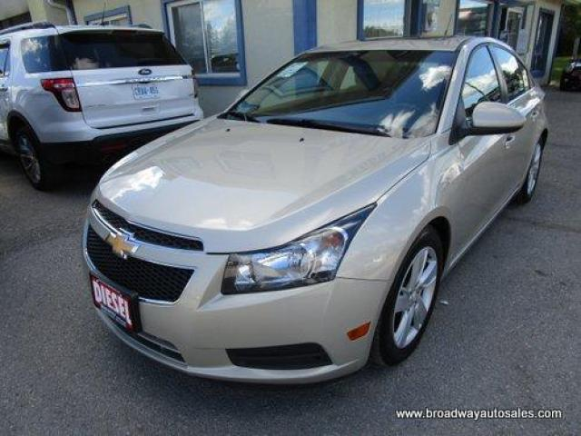 2014 Chevrolet Cruze LOADED 2.0L - DIESEL 5 PASSENGER LEATHER.. HEATED SEATS.. BACK-UP CAMERA.. PIONEER AUDIO.. POWER SUNROOF.. KEYLESS ENTRY.. TOUCH SCREEN DISPLAY..