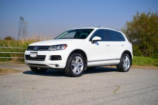 Used 2012 Volkswagen Touareg 3.0 TDI Execline *LEATHER* *NAVIGATION* *HUGE SUNROOF* *HEATED SEAT* *MEMORY SEAT* for sale in Surrey, BC