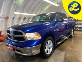 Used 2017 RAM 1500 SLT CREW CAB 4X4 *  Tonneau Cover * Chrome Side Steps * Chrome Bumpers * 20 inch aluminum wheels * Back Up Camera * Cruise Control * Steering Wheel Co for sale in Cambridge, ON