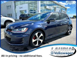 Used 2017 Volkswagen Golf GTI 2.0 TSI Autobahn Manual for sale in PORT HOPE, ON