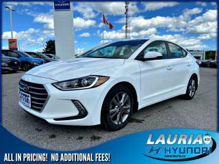 Used 2017 Hyundai Elantra GL Auto - Apple Carplay / Android Auto for sale in Port Hope, ON