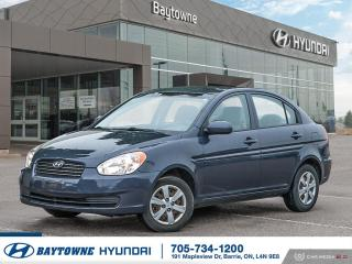 Used 2010 Hyundai Accent 4Dr GLS at for sale in Barrie, ON