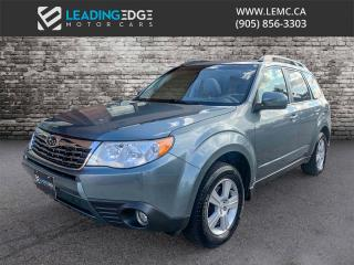Used 2009 Subaru Forester 2.5 X Touring Package AWD, Sunroof, Heated Seats for sale in Woodbridge, ON