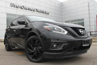 Used 2018 Nissan Murano Midnight Edition ONE OWNER ACCIDENT FREE TRADE. NISSAN CERTIFIED PREOWNED! for sale in Toronto, ON