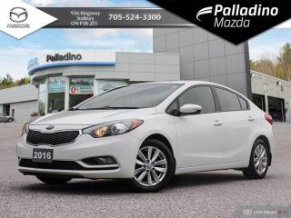 Used 2016 Kia Forte LX - VERY CLEAN - NO ACCIDENTS for sale in Sudbury, ON