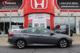 Used 2017 Honda Civic Sedan LX-CERTIFIED-CLEAN-LOW KM for sale in Sudbury, ON