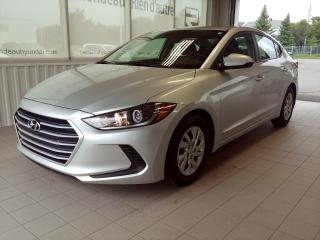 Used 2017 Hyundai Elantra LE AUTOMATIQUE - A/C - Bluetooth for sale in Ste-Julie, QC