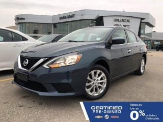 Used 2017 Nissan Sentra SV FWD | Heated Seats | Sunroof | Touchscreen Navigation for sale in Winnipeg, MB