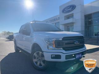 Used 2019 Ford F-150 XLT Sport 4x4/Navi/Rear View Camera/Remote Start for sale in St Thomas, ON