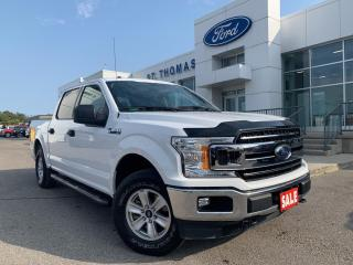 Used 2018 Ford F-150 XLT 4x4/Bluetooth/Rear View Camera for sale in St Thomas, ON