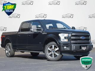Used 2015 Ford F-150 Lariat CREW CAB | 6.5' BOX | HEATED/COOLED SEATS | LEATHER | PANO MOONROOF | MAX TOW PACKAGE | LOW KM for sale in Waterloo, ON