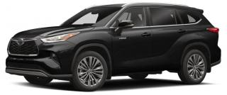 New 2020 Toyota Highlander Hybrid Limited for sale in Stouffville, ON