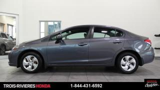 Used 2015 Honda Civic LX + BLUETOOTH + CAMERA RECUL + A/C! for sale in Trois-Rivières, QC