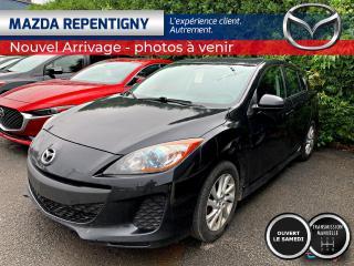 Used 2012 Mazda MAZDA3 Sport GS-SKY CRUISE BLUETOOTH 44.18$/SEM for sale in Repentigny, QC