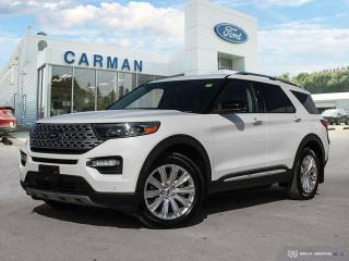 New 2020 Ford Explorer LIMITED for sale in Carman, MB